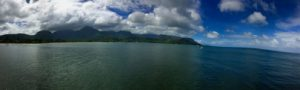 Hanalei Bay on Kauai.