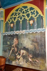 Cain and Abel at The Painted Church