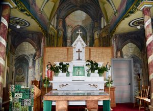 The Altar at St; Benedict Catholic Church on the Big Island