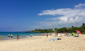 Hapuna Beach on the Big Island, HI.