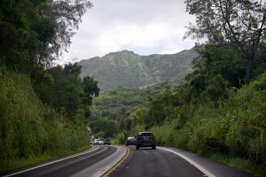 Roads in Kauai.