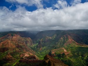 Picture at Waimea Canyon lookout.