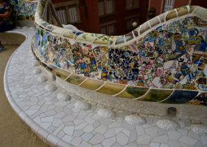 Gaudi's Most Comfortable Bench - ⁨Park Güell⁩