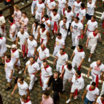 One Man Asking For Trouble - The Running of the Bulls