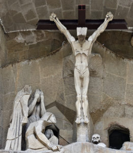 The Crucifixion - The Passion Facade - Sagrada Familia