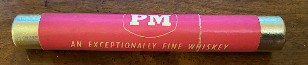 PM - An Exceptionally Fine Whiskey - Perfume Point Holder